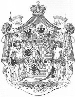 Upper Saxon Circle - Image: Wappen Deutsches Reich Fürstentum Schwarzburg Rudolstadt