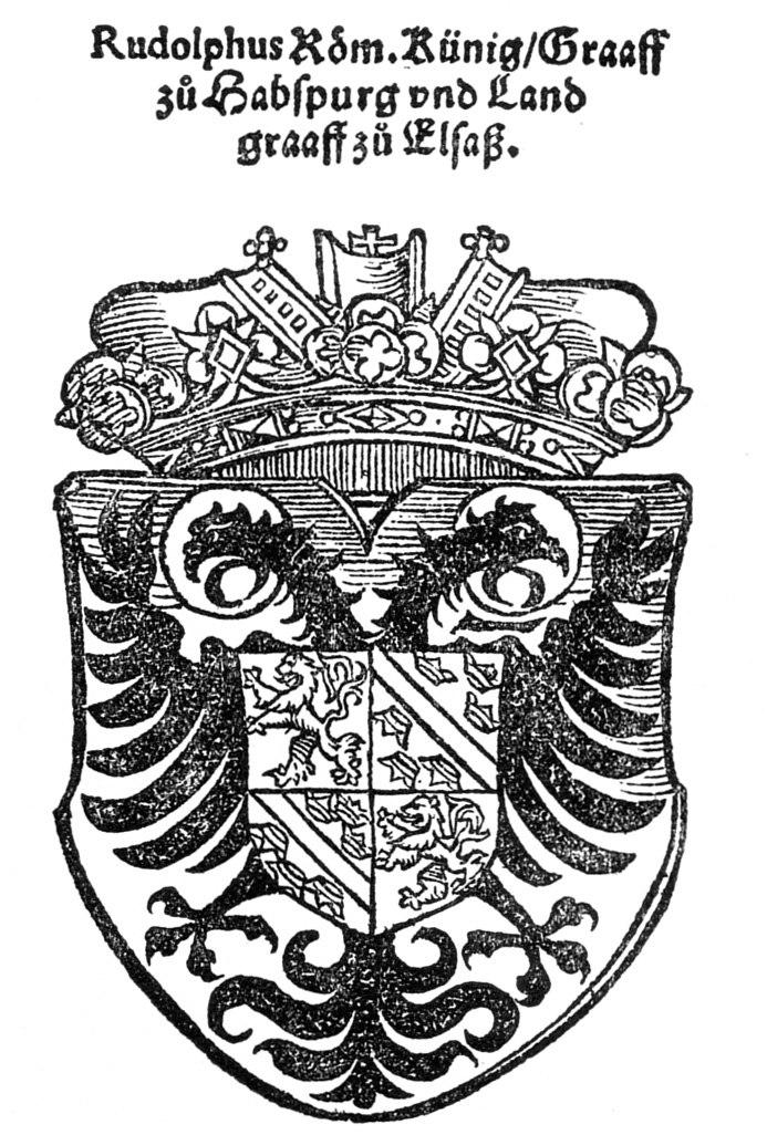 Wappen Rudolf von Habsburg