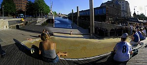 Watershed (Bristol) - The watershed building and harbour