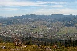 Wegierska Gorka view from Glinne.jpg