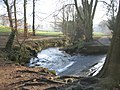 Weir on Meanwood Beck - geograph.org.uk - 686520.jpg