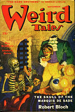 Weird Tales cover image for September 1945