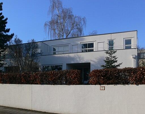 Weissenhofsiedlung Stuttgart Haus Frank, Rathenaustraße 13, 15