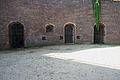 Wejście do kazamaty w głogowskiej fosie miejskiej.JPG
