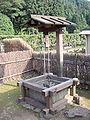 Well with bucket, Ichijodani 200507.jpg