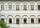 Wernberg Klosterweg 2 ehem. Schloss Arkadenhof W-Flügel Fassade 14062018 5922.jpg
