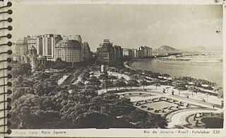 Praça Paris - Paris Square - Rio de Janeiro - Brasil