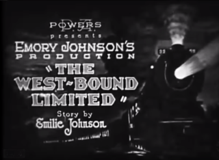 <i>The West~Bound Limited</i> 1923 American silent drama film