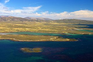 West Falkland Island in Falkland Islands, Atlantic Ocean