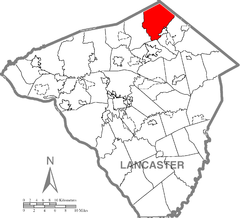 West Cocalico Township, Lancaster County Highlighted.png