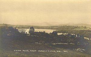 Parsonsfield, Maine - Image: West Pond, East Parsonsfield, ME
