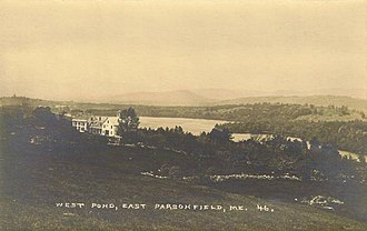 Parsonsfield, Maine - Image: West Pond, East Parsonsfield, ME