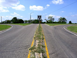 Texas State Highway 138 - Western terminus of SH 138