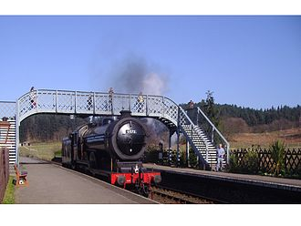 North Norfolk Railway - LNER 4-6-0 Class B12 no. 61572 at Weybourne station