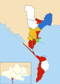 Weymouth and Portland wards 2016.png