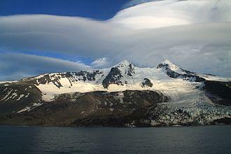 Weyprecht Glacier - The Weyprecht Glacier in the Beerenberg