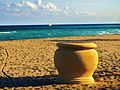 What comes first the flowerpot or the sailing boat... Silence c'est trop beau.... - panoramio.jpg
