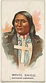 White Shield, Southern Cheyenne, from the American Indian Chiefs series (N2) for Allen & Ginter Cigarettes Brands MET DP828018.jpg