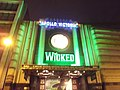 Wicked - Apollo Victoria Theatre - Victoria, London - Wilton Road entrance (8103742819) (2).jpg
