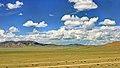 Widoki mongolskiego krajobrazu widziane z minibusa Karakorum - Ułan Bator (18).jpg