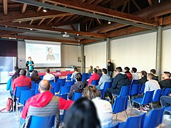 Wikidata's 6th birthday in Rieti 04.jpg