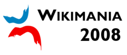 Wikimania 2008 banner