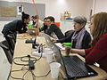 Wikipedians at work at the Baltimore Museum of Art editathon.JPG