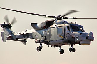 Fleet Air Arm - The Wildcat HMA2 became the standard small shipborne helicopter in the FAA, replacing the Lynx in March 2017.