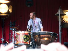 Will Champion al Viva la Vida Tour (2008)