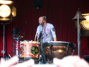 Will Champion of Coldplay.