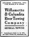Willamette and Columbia Tow Co ad 04 Feb 1911.jpg