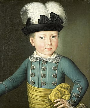 William I of the Netherlands - Portrait of William (1775)