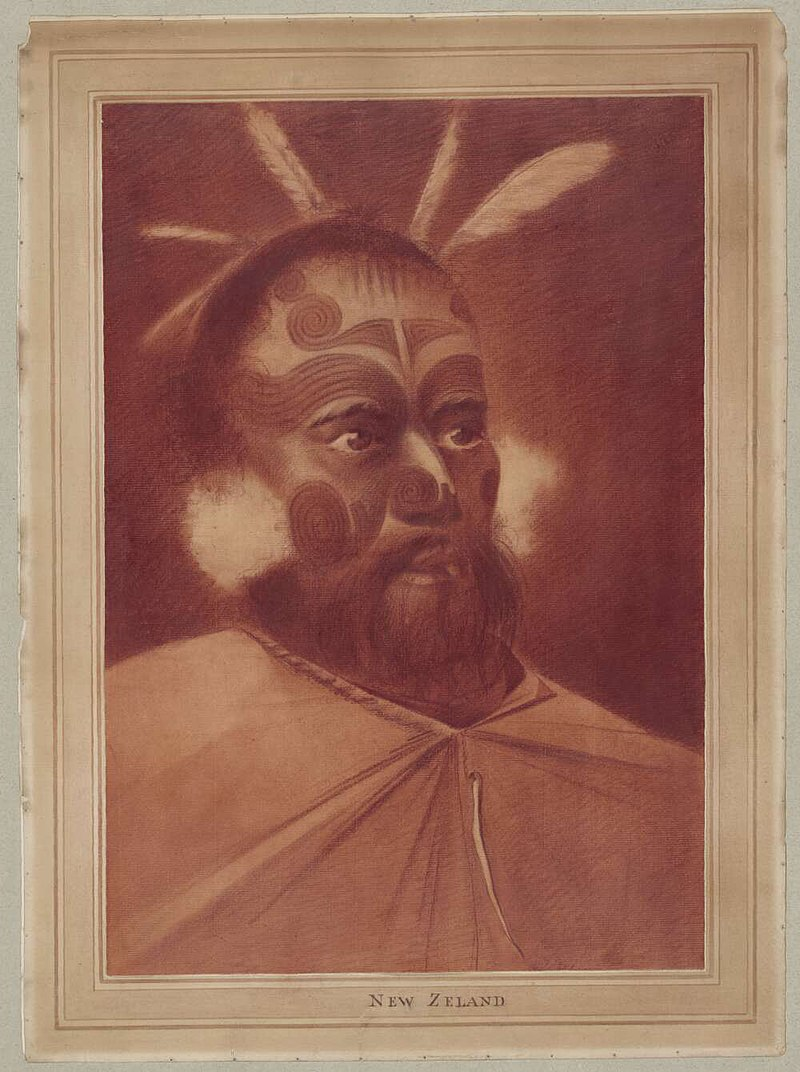 William Hodges – Portrait of a Maori Chieftain.jpg