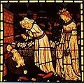 William Morris The recognition of Tristram by La Belle Isoude.jpg
