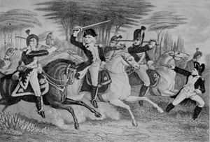 William Washington - William Washington at the Battle of Cowpens