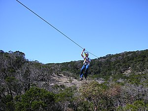 Wimberley zip lines- a recreational destinatio...