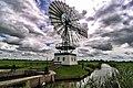 Windmotor aan Hegedijk bij Indijk (Friesland).jpg