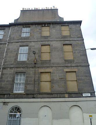 Window tax - Image: Windows in Brighton Street, Edinburgh