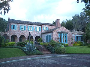 Robert Bruce Barbour House - Image: Winter Park Casa Feliz 01