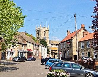 Winterton, Lincolnshire - Image: Winterton 2014(higherres)