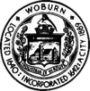Official seal of Woburn, Massachusetts