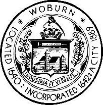 Official seal of Woburn, Massachusetts