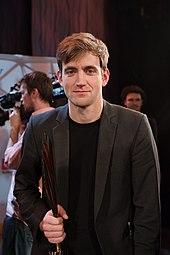 Wolfram Lotz Nestroy-Theaterpreis 2015.jpg