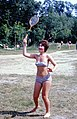 Woman Playing Badminton Moscow 1964.jpg