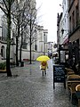 Woman With Yellow Umbrella Behind Antwerp Cathedral (139737093).jpeg