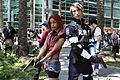 WonderCon 2015 - Claire Redfield and Leon Scott Kennedy (Resident Evil 2) cosplay (17049600395).jpg