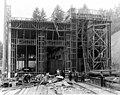 Wood frame construction of the powerhouse, August 11, 1911 (SPWS 688).jpg