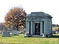 Woodruff Mausoleum, Brush Creek Cemetery, 2015-10-26, 02.jpg