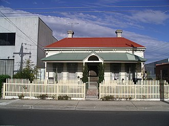 Brunswick, Victoria - A worker's cottage, built in the early 20th century. Many have now been extensively renovated at great cost
