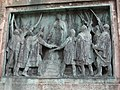 World War I memorial detail, Harminckettesek tere, Budapešť 0257.jpg